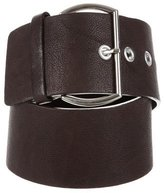 Hache Leather Buckle Waist Belt