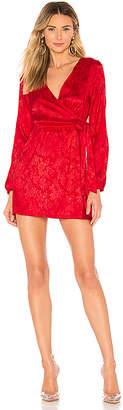 by the way. Camila Floral Jacquard Mini Dress