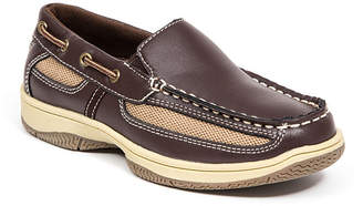 Deer Stags Little and Big Boys Pal Classic Dress Comfort Slip-On Loafer Boat Shoe