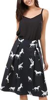 Sugarhill Boutique Make Believe Skirt, Black/White