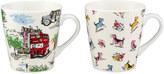 Cath Kidston Set of 2 Billie Goes To Town Mini Stanley Mugs