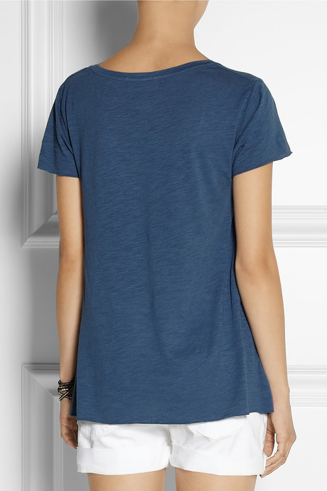 American Vintage Jacksonville cotton-blend jersey T-shirt