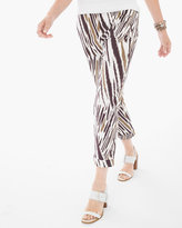Chico's Serene Zebra Crop Pants