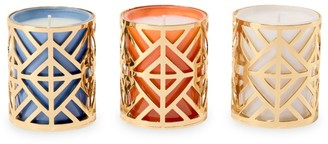 Tory Burch 3-Piece Votive Scented Candle Set