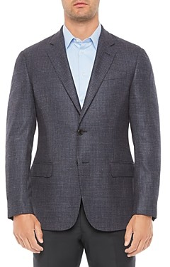 Giorgio Armani Emporio Regular Fit Wool Blend Jacket
