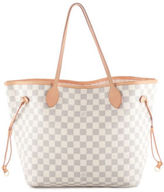 Louis Vuitton Damier Azur Coated Canvas Neverfull MM Tote Handbag BC12048 MHL