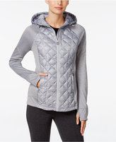 MICHAEL Michael Kors Mixed-Media Active Puffer Coat
