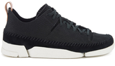 Clarks Women's Trigenic Flex Shoes Black Nubuck
