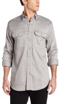 Carhartt Men's Big & Tall Flame Resistant Lightweight Twill Shirt