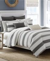 "Nautica Chatfield 12"" x 20"" Pintucked Decorative Pillow"