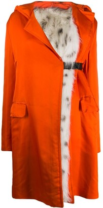 Gianfranco Ferré Pre Owned 1990s Hooded Coat