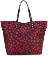 RED Valentino heart print shopping bag