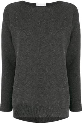 Fabiana Filippi round neck relaxed-fit jumper