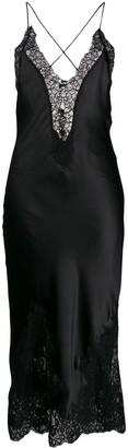 Ermanno Scervino lace trim slip dress
