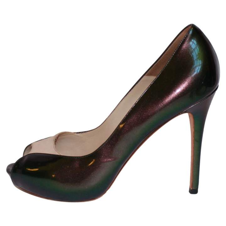 Alexander McQueen Patent Leather Court Shoes