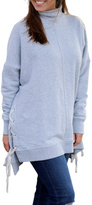 Free People Plush Gray Pullover