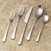 Crate & Barrel Iona Satin 5-Piece Flatware Place Setting
