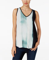 Calvin Klein Jeans Printed Draped Top