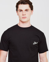The Hundreds Slant Crest Pocket T-Shirt Black