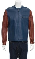 Fendi Leather Moto Jacket