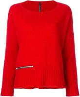 Pierantonio Gaspari Pierantoniogaspari zip detail sweater