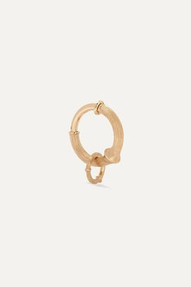 OLE LYNGGAARD COPENHAGEN Nature Small 18-karat Gold Hoop Earring - one size
