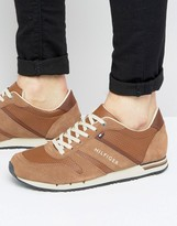 Tommy Hilfiger Maxwell Leather Sneakers