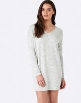 Forever New V Neck Zip Jumper Dress