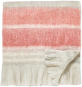 Sanderson Magnolia & Blossom Coral Blanket - 140x185cm