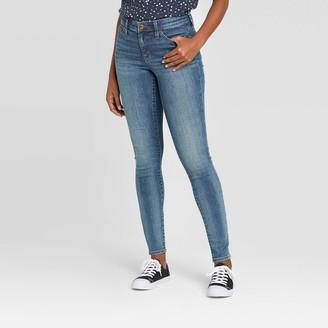 Universal Thread Women's High-Rise Skinny Jeans - Universal ThreadTM Dark Wash 2 Long