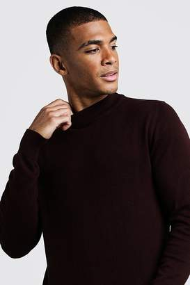 boohoo Long Sleeve Turtle Neck Jumper