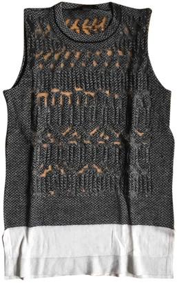 Alexander Wang Grey Wool Top for Women