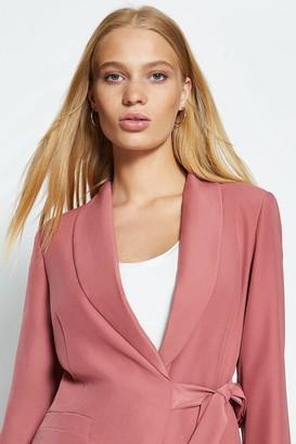 Coast Long Sleeve Tie Side Blazer