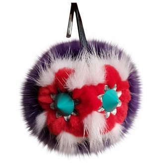 Fendi Bag Bug Purple Mink Bag charms