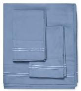 Melange Home Border Stripe Embroidered Sheet Set