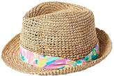 Lilly Pulitzer Poolside Fedora Hat