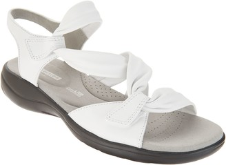 Clarks Collection Leather Sandals - Saylie Moon