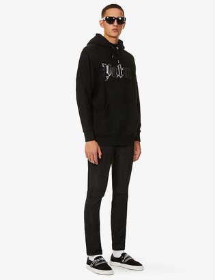 Palm Angels Glow In The Dark cotton-jersey hoody