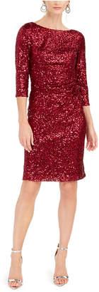 Jessica Howard Petite Sequin Dress