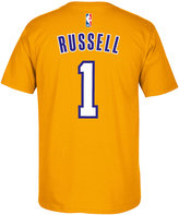 adidas Men's D'Angelo Russell Los Angeles Lakers Player T-Shirt