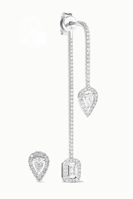 Messika My Twin 18-karat White Gold Diamond Earrings