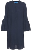 MiH Jeans Beck crinkle-cotton dress
