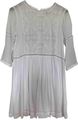 Suncoo White Dress for Women