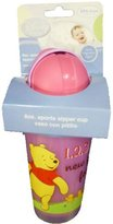 Disney Pooh 8 Oz Sports Sipper Cup & Straw BPA-free - 1 Pack Cup