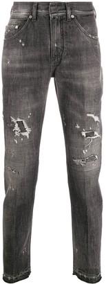Neil Barrett Distressed Skinny Jeans