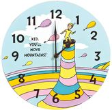"Trend Lab Dr. Seuss ""Kid You'll Move Mountains"" Wall Clock by"