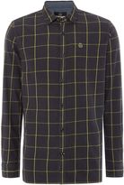 Duck and Cover Men's Element window-pane check shirt