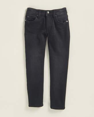 Joe's Jeans Boys 4-7) Black Worn Brixton Kinetic Straight & Narrow Jeans