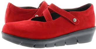 Wolky Sabik (Dark Red) Women's Shoes