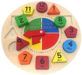 Very Personalised Shape Sorter Learning Clock